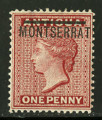 Montserrat   1876   Scott #  1   Mint Lightly Hinged