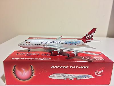 "Phoenix 1:400 Virgin Atlantic 747-400 Harry Potter ""hot Lips"" G-Vlip *brand New*"