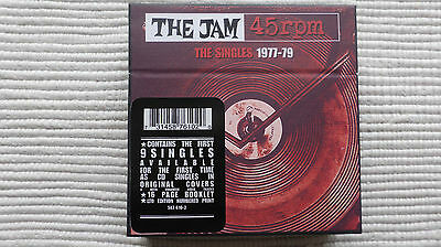 The Jam 45rpm The Singles 1977-79 (Rare/Mint) 2xNumbered Photo 1 signed by PW