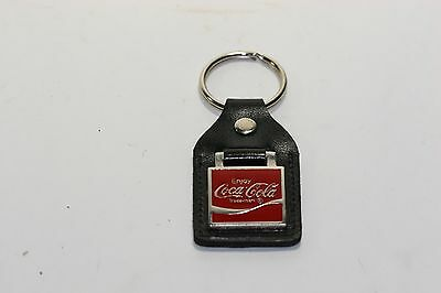 Rare Coca Cola  Leather Key Ring