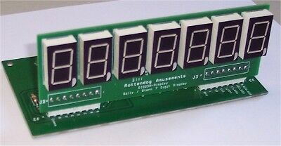 Brand New DIS058 7-Digit display board set of 5 for Bally/Stern pinball machines