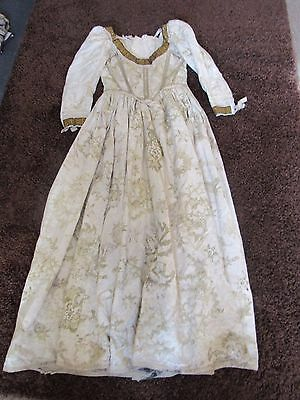 Georgian styled theatre costume, full length dress of high quality