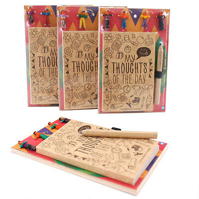New Worry Doll Note Pad & Pencil Stocking Filler