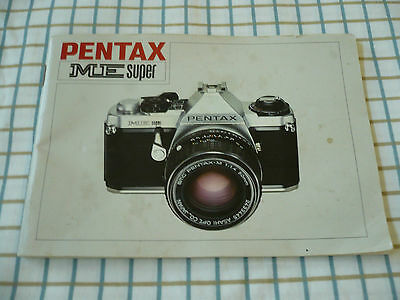 owners manual for a pentax me super camera 10 00 picclick rh picclick com pentax k5 owners manual pentax k10d owners manual