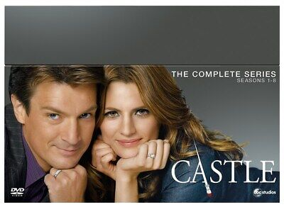Castle: Seasons 1-8 (Box Set) [DVD]