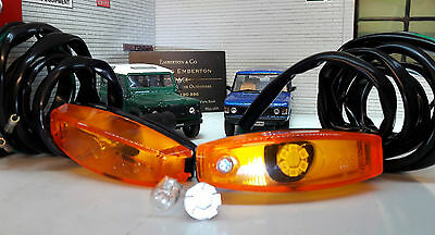 Land Range Rover Classic Early LED Wing Repeater Indicator Lights 589143 x2