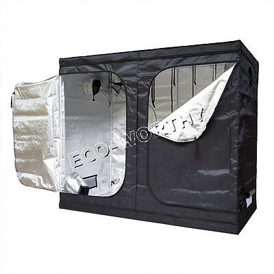 2 Module 210D Plant Grow Tent Growing Room Greenhouse Hydroponics Farm Garden