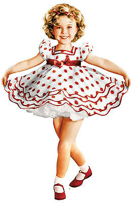 SHIRLEY TEMPLE PARTY DRESS DANCE COSTUME Many Sizes BNWT