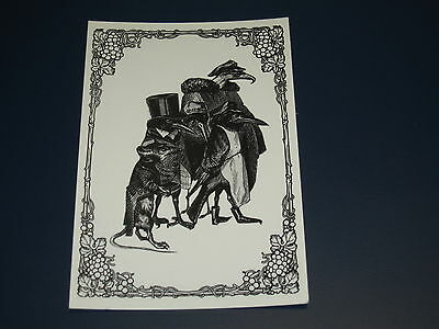 The Black Crowes Christmas Greeting Card Happy Hoildays The Black Crowes