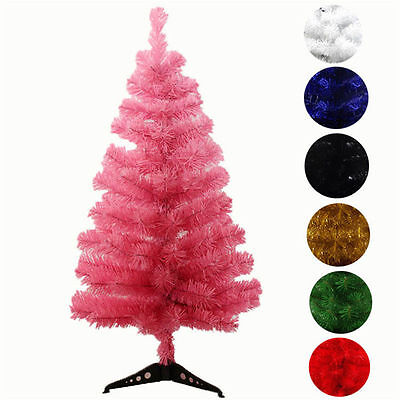 Artificial white red green Christmas Tree 2FT 3FT 7color Christmas supplies gift