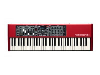 Nord Electro 5D 61 Key, Semi-weighted w/- Drawbars Nord