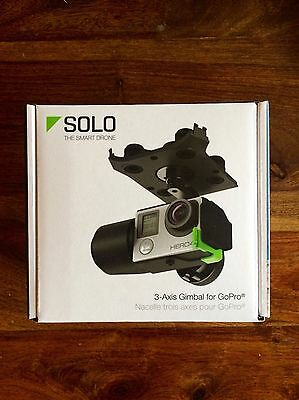 New Sealed Retail Black 3DR Solo 3-axis Gimbal GB11A for GoPro camera