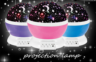 Sleeping night light Sky Star Lamp Projector for baby and children Xmas Gift