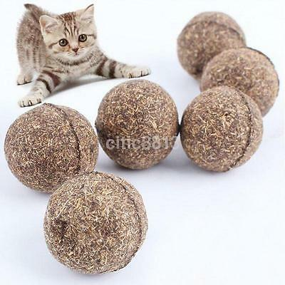 Useful Cat Toy Natural Catnip Ball Menthol Flavor Edible Cats-go-crazy Treats