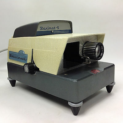 BRAUN Germany Paximat S 35mm Slide Projector
