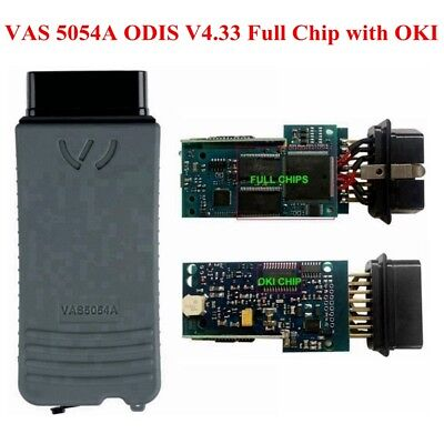 VAS 5054A ODIS V4.1.3 Full Chip with OKI Bluetooth Code Scanner Diagnostic Tool