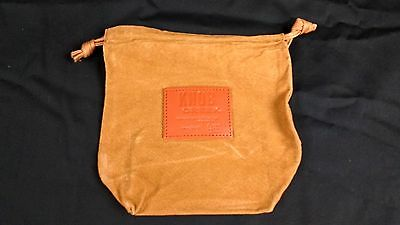 Knob Creek Bourbon Kentucky Whiskey Suede Leather Sacks New Man Cave Collect