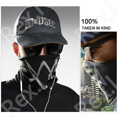 Watch Dogs 2 Marcus Holloway 's Mask Cap Cosplay