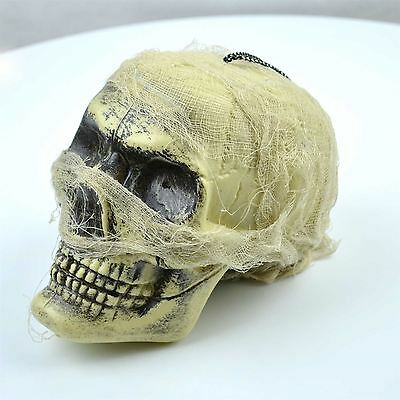 Halloween Pirate Skull Flashing LED Light Multi Colour Party Decorations