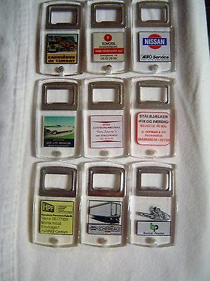 Vintage Plexi Danmark Advertising Bottle Openers Foreign
