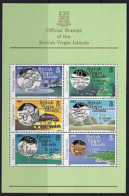 British Virgin Islands Sgms559 1985 New Coinage Mnh