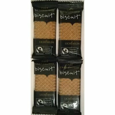 Lichfields Caramelised Biscuits Individually Wrapped
