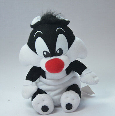 """BABY SYLVESTER Warner Brothers Looney Tunes Cartoon 6"""" Soft Toy New SAMPLE"""