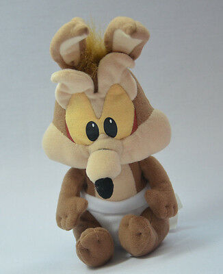 """BABY WILE E. COYOTE Warner Brothers Looney Tunes Cartoon 6"""" Soft Toy New SAMPLE"""