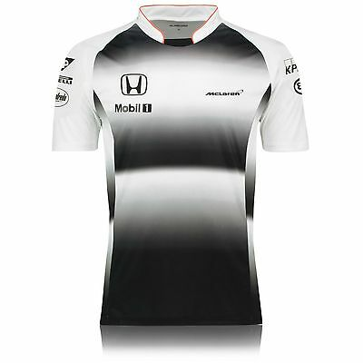 Official McLaren Honda F1 Men's 2016 Team T-Shirt