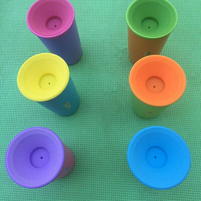 360° Cup for Kids Spill Safe cup drinking rim Leakproof 6 266ml Drinkware