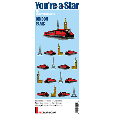 Red Maps You Re A Star Map Set Current Edition City Travel Guide