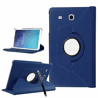 Smart 360 Degree Rotating Stand Case Cover For Samsung Galaxy Tab E - 9.6 inch