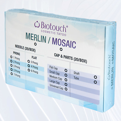 Biotouch Mosaic Semi Permanent Makeup Machine Needle Caps