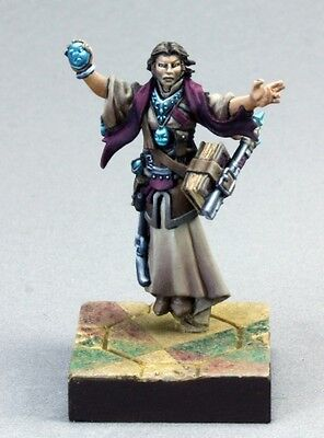 Mystic Theurge Reaper Miniature Pathfinder Cleric Mage Wizard Magic User Caster