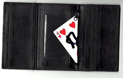 NO-PALM SIGNED CARD TO TRIFOLD WALLET  magic trick