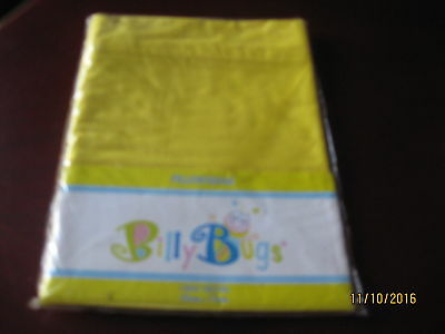 PILLOW SHAM - 100% COTTON - BRIGHT YELLOW 50cm X 70cm BY BILLY BUGS