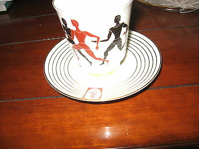 Olympic (Russian) memorebillia, 1980, coffee cup and saucers