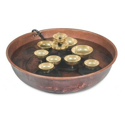 Woodstock Chimes Water Bell Fountain Copper Bowl WWBF2