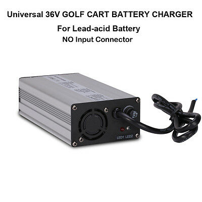 Universal 36V 5A GOLF CART BATTERY CHARGER NO PLUG FOR EZGO Club Car TXT Yamaha