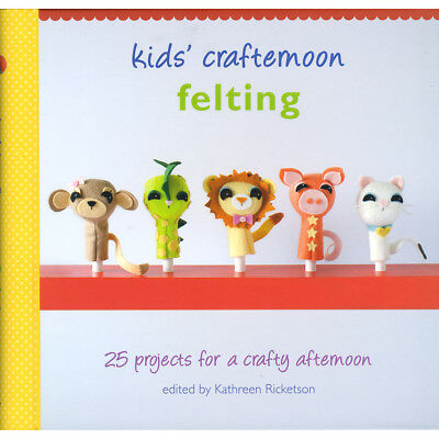 Random House Books Kids' Crafternoon Felting RA-70044
