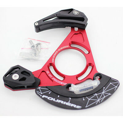 Enduro Downhill Single Speed Chain Guide Device 32T - 38T ISCG05 BB Red