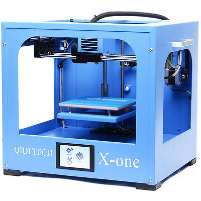 Newest  QIDI TECH Single extruder 3d printer with 0.1mm printing precision