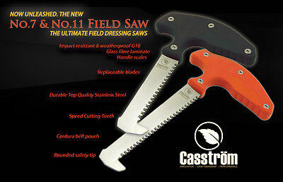 CASSTROM no 11 Field Saw Outdoor Hunting w/pouch Sweden made