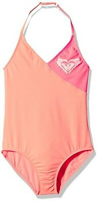 (TG. 10 anni) Roxy One Piece G  Mge0-nuoto Bambina    Pink (Sunkissed Coral) 10