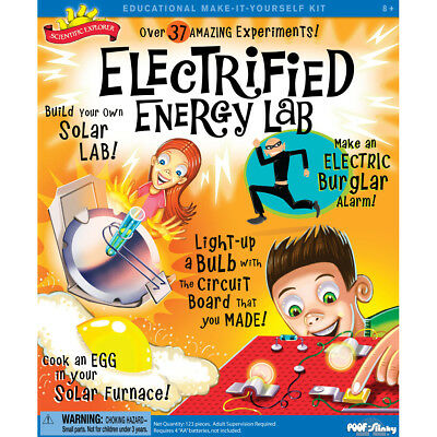 Scientific Explorers Electrified Energy Lab Kit  OSA300