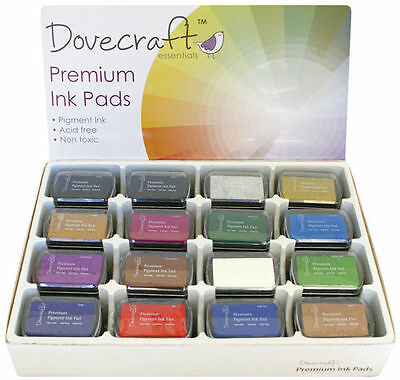 Dovecraft Premium Pigment Ink Pad Craft Cardmaking Stamping
