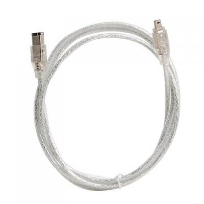 IEEE 1394 FireWire iLink DV cable 4 - pin to 6 - pin M / M 4 ft B4M7