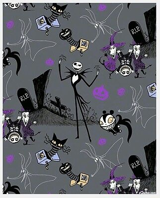 Nightmare Before Christmas - Jack In The Box Fabric * New * In Stock * Free Post