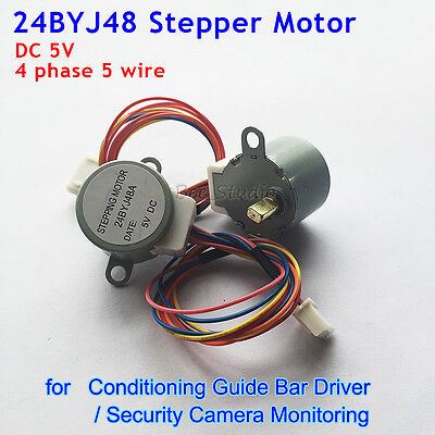 24BYJ-48 High Quality Gear Stepper Motor 5V 4 Phase 5 wire Reduction  Arduino