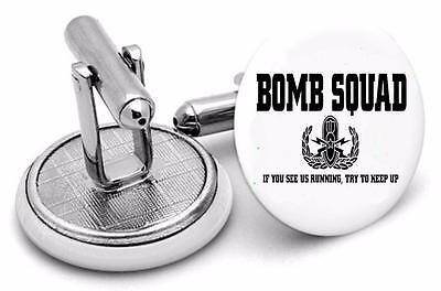 Bomb Squad  Up  logo Mens Cufflinks ,Birthday  Gifts Cufflinks typ4